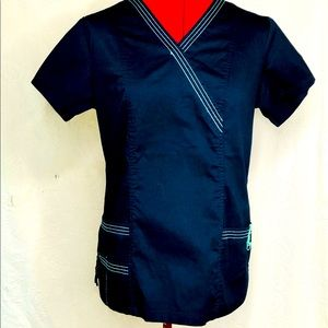 Health Pro Stretch Extensible Size Small Scrub Top